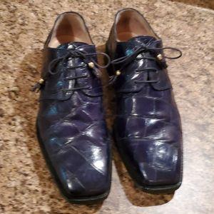 Mauri Genuine Alligator Dress shoes 10M